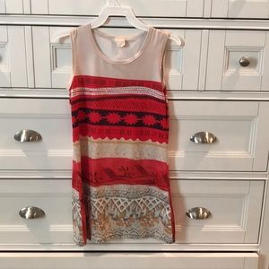 Girls Dress, Moana inspired print.
